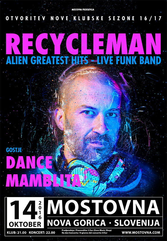 RecycleMan - AliEn Greatest Hits, Dance Mamblita