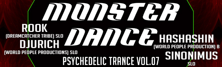MONSTER DANCE PSYCHEDELIC TRANCE vol.7